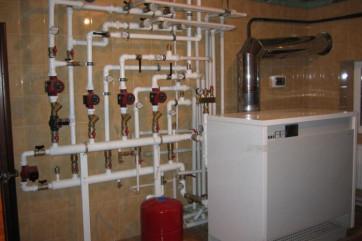 Системы отопления водяного типа