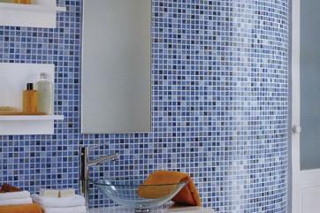 Декор интерьера с помощью мозаики