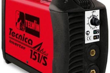 Telwin TECNICA 151/S 230 V acx in case