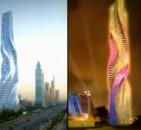 Двигающийся небоскреб в Дубае