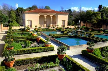 Ландшафтный дизайн в итальянском стиле