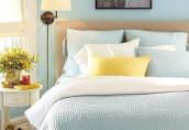 Постельное белье в интерьере спальни