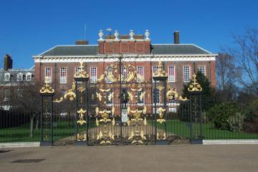 Английские сады Кенсингтонского дворца