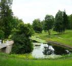 Ландшафт в пейзажном стиле
