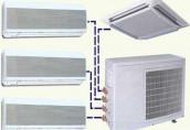 Преимущества мульти-сплит систем кондиционирования и вентиляции воздуха