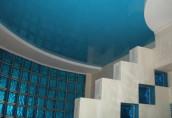 Натяжной потолок ПВХ в санузел