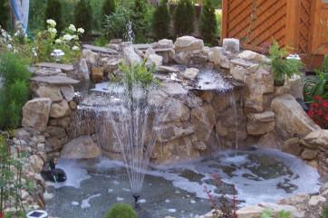 Привнесите в свой сад умиротворение с помощью фонтана!