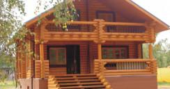 Готовые дома из клееного бруса