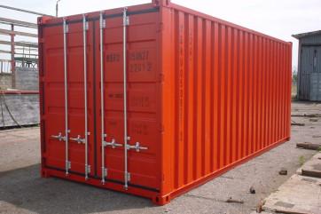 Использование контейнера 20 футов