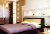 Организация освещения в спальне