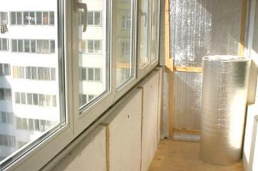Утепление балконов: популярные материалы