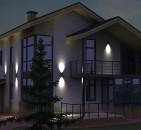 Архитектурное освещение фасадов от Arh-Svet.ru