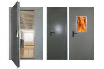 Двери и их разновидности, используемые в разных объектах
