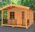Загородные и дачные дома из дерева