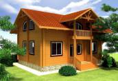 Дом из профилированного бруса: преимущества, особенности и качества