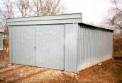 Сборные гаражи: быстро, просто, доступно