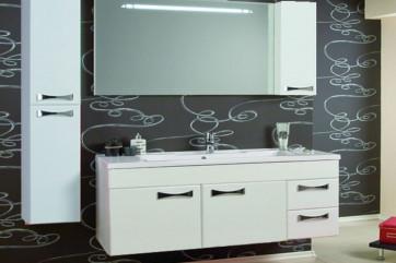 Угловой комплект мебели для ванной комнаты