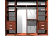 Оформление гостиной: приобретаем шкаф-купе