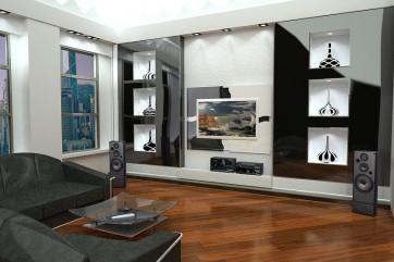 Декор современной квартиры