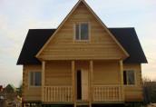 Строительство дома из профилированного бруса: особенности и преимущества