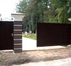 Выбираем ворота для приусадебного участка