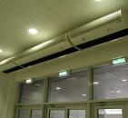 Электрические тепловые завесы