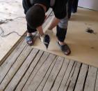 Как залить стяжку на деревянный пол