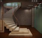 Монолитные лестницы: особенности и преимущества