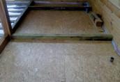 Бетонная стяжка на деревянном полу: технология укладки