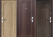 Привлекательность  входных дверей эконом класса
