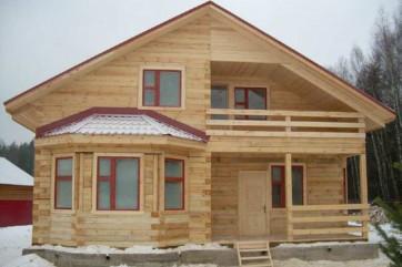 Плюсы строительства домов из бруса