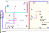 Электрическая проводка в доме: схема, нормативы, правила монтажа