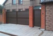 Автоматические откатные ворота – защита вашего дома и участка