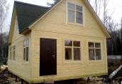Чем хороши дома из профилированного бруса?