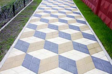 Виды плитки тротуарной