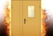 Преимущества противопожарных дверей