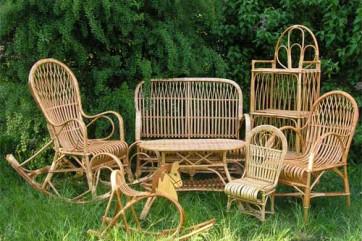Что следует знать о плетеной мебели?