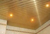 Особенности реечных потолков