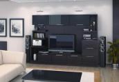 Гостиные: преимущества стеллажной мебели