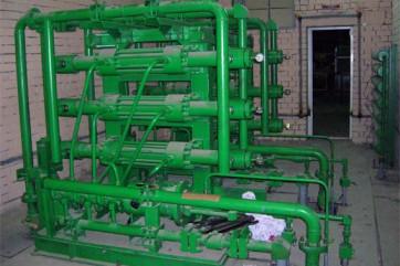 Гидросбивы окалины при изготовлении труб