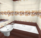 Учимся выбирать плитку в ванную комнату