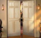 Основные разновидности распашных межкомнатных дверей