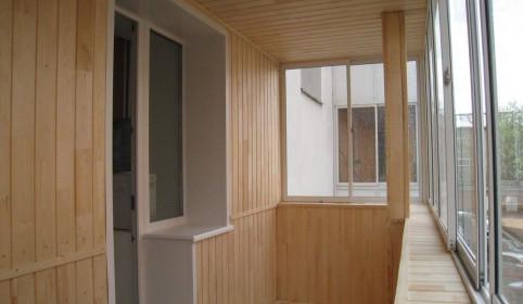 Особенности и материалы отделки лоджий и балконов
