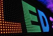 Преимущества и особенности использования светодиодной рекламы
