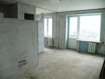 Квартира без чистой отделки
