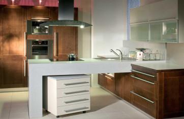 Как оформить кухню в стиле модерн