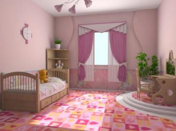 Как сделать ремонт в детской комнате