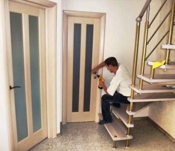 Подготовка дверного проема
