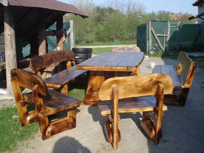 Деревянные столы и стулья для дачи из сосны своими руками фото 24