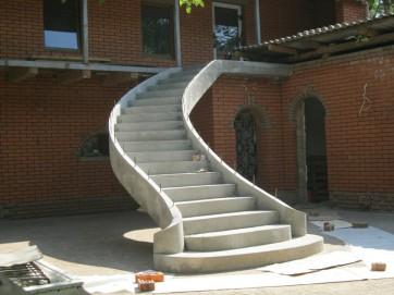 Преимущества монолитных лестниц